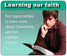 Learn more about our faith